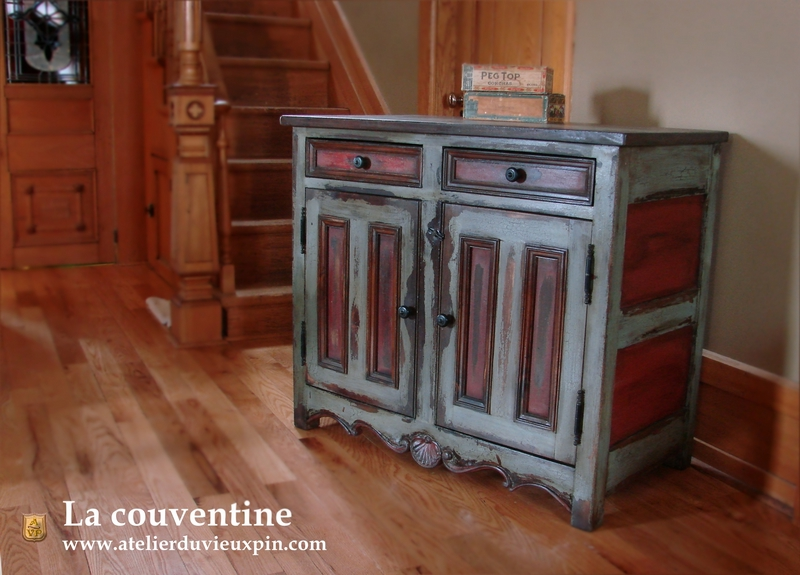atelier du vieux pin la peinture de lait pour les reproductions de meuble quebecois antique en. Black Bedroom Furniture Sets. Home Design Ideas